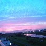 2010年6月23日夕暮 多摩川