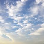 2010年7月12日青空 多摩川