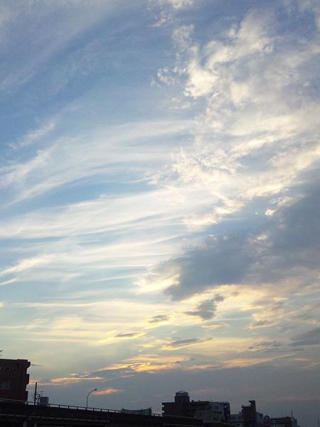 2010年9月19日夕暮 多摩川
