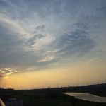 2011年6月29日夕暮 多摩川