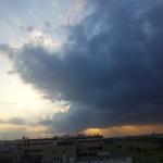 2011年7月5日夕暮 多摩川