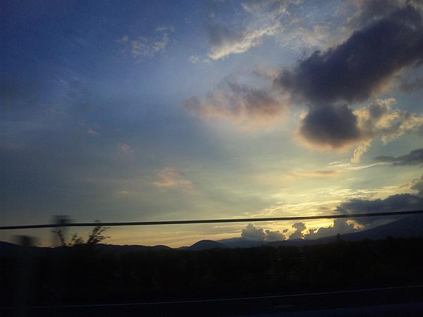 2011年7月10日夕暮 飯舘村