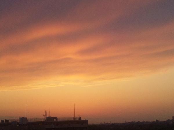 2012年5月13日夕暮 多摩川