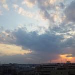 2012年5月16日夕暮れ 多摩川