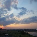 2012年5月16日夕暮 多摩川