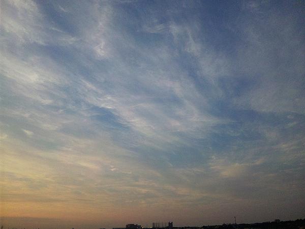 2012年5月21日夕暮れ 多摩川