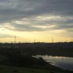 2012年6月6日 多摩川 夕暮れ