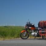 北海道キャノンボールツー3日目 2014/6/29その1 宗谷岬から宗谷丘陵