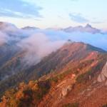 2014/9/26-27 初めての北アルプスへ。燕岳 その6 ご来光そして下山