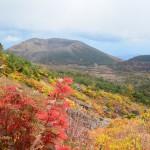 2014/10/4 福島紅葉ハンティングツー その3 未踏の山。一切経山。
