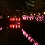 ミ・エスト超絶自分恍惚写真館:目黒川みんなのイルミネーション2014ロケ