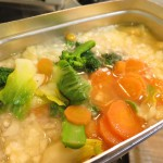 ヒトミンの山ごはん(残業食)レシピ その10 クリームシチュー