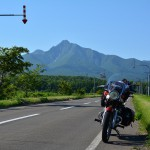2016北海道相乗効果で快晴ツーリングその12 7日目-1_6/30 斜里岳とエスト・ミオ